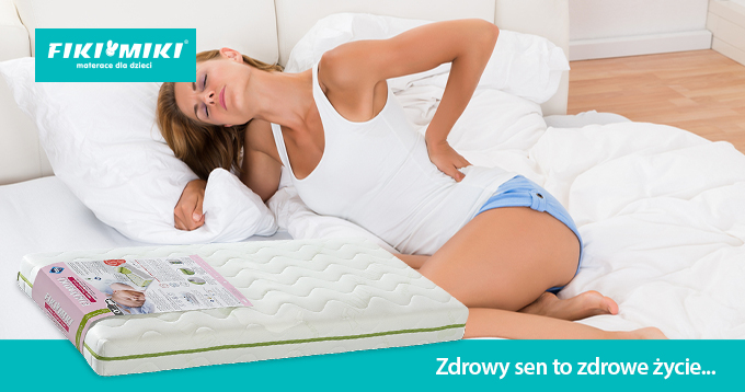 Jaki wybrać materac do spania, gdy boli kręgosłup?